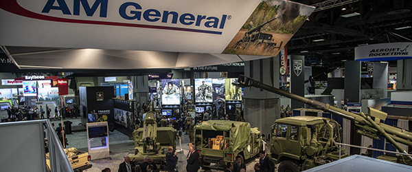 AM General's Booth at the AUSA show