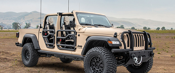AM General's Tactical Jeep Gladiator concept vehicle